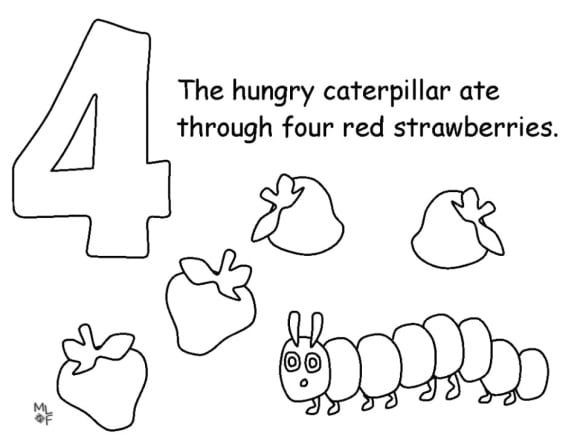 very hungry caterpillar coloring very hungry caterpillar writing pages my mommy style coloring very caterpillar hungry