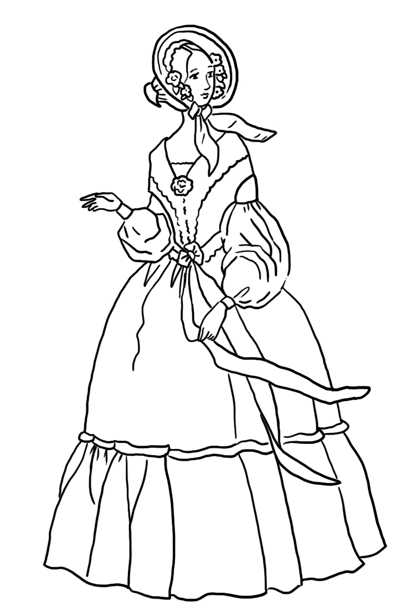 victorian era coloring pages victorian printable coloring pictures victorian era pages coloring