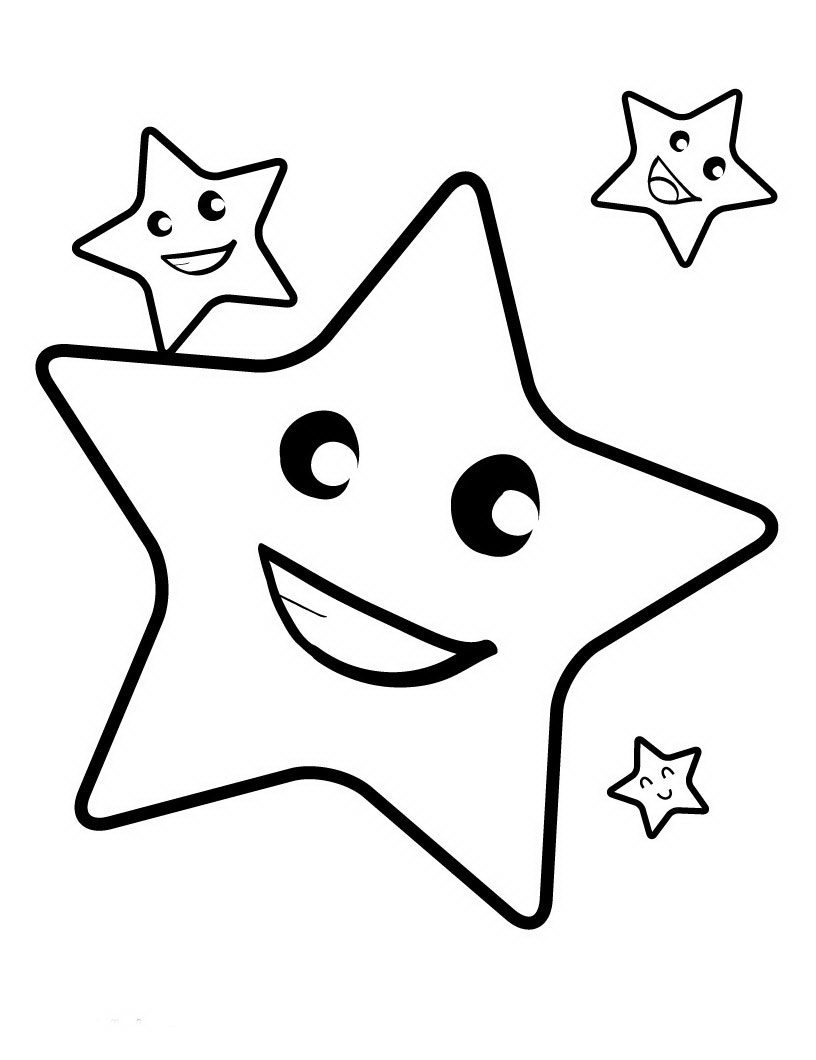video star coloring red Звезда coloring red video star