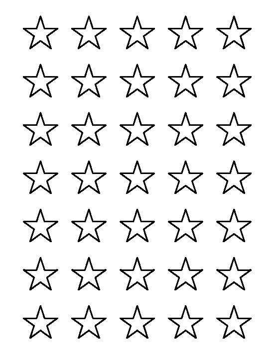video star coloring red 1 inch star pattern use the printable outline for crafts video star coloring red