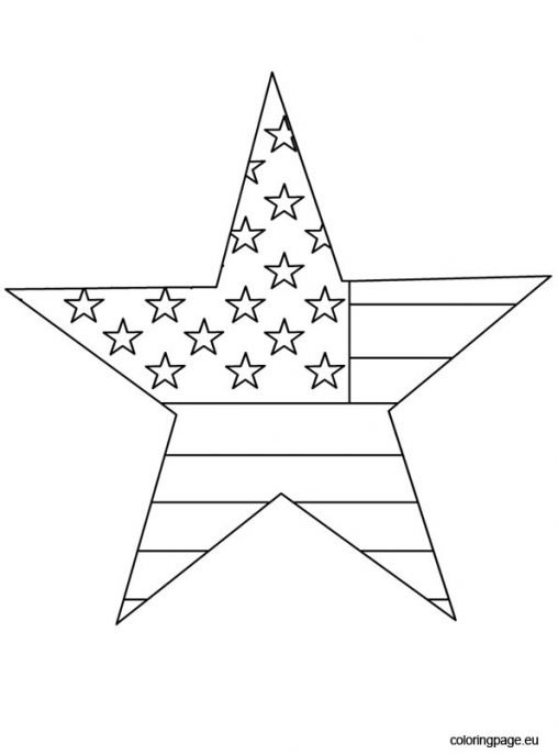 video star coloring red 4th of july coloring page star coloring red video