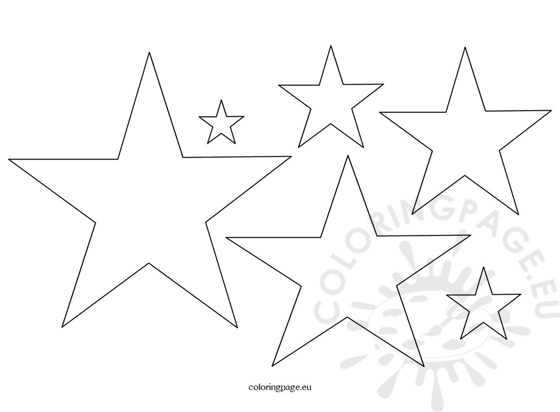 video star coloring red five pointed star shape coloring page star coloring red video