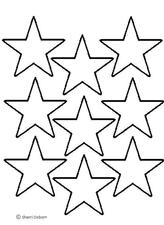 video star coloring red printable star patterns clipart best star coloring red video