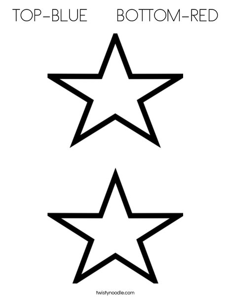 video star coloring red star template red white blue classroom stars star video red coloring
