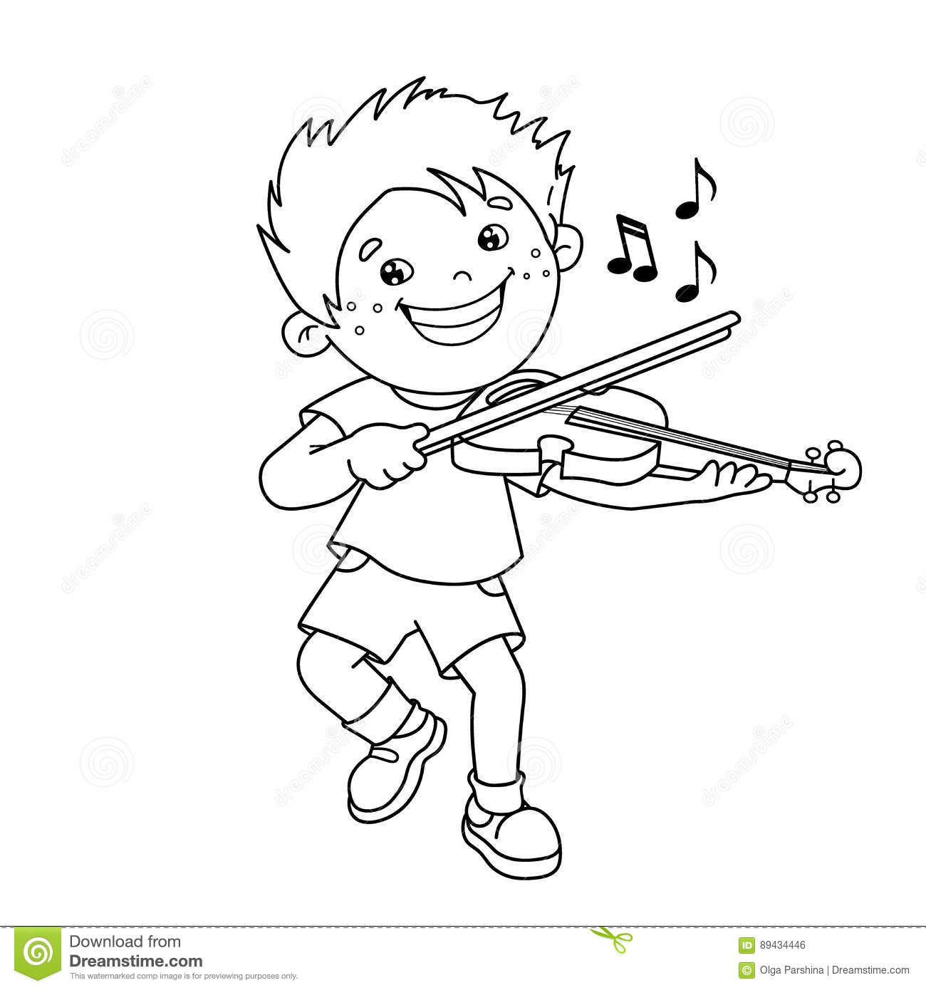 violin outline drawing coloring page outline of cartoon boy playing the violin violin drawing outline