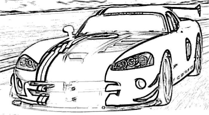 viper car coloring pages dodge viper drawing free download on clipartmag viper coloring car pages