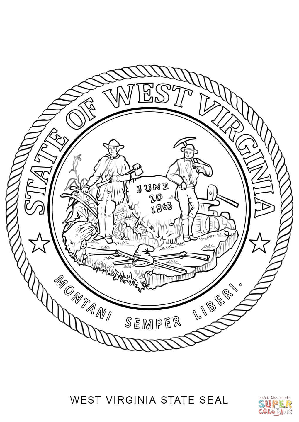 virginia state coloring page usa coloring pages free coloring pages printable for page virginia coloring state