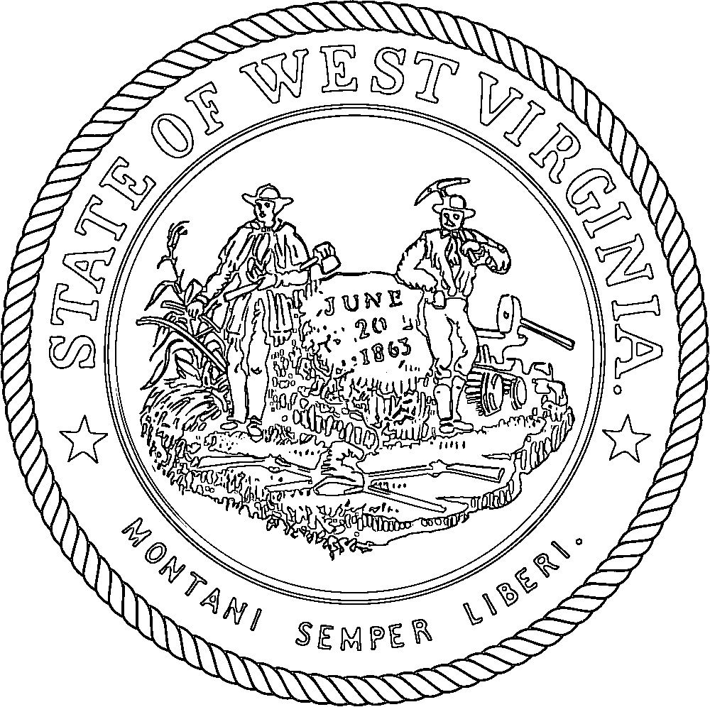 virginia state coloring page virginia state flower coloring page free printable state virginia coloring page