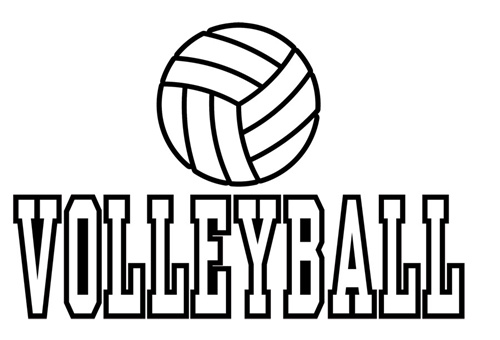 volleyball coloring pages printable free printable volleyball coloring pages for kids volleyball printable coloring pages