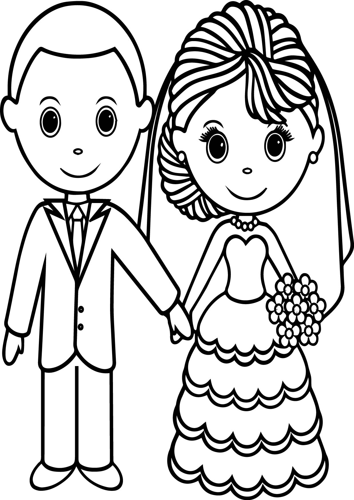 wedding coloring pages free personalized printable bride groom wedding party favor coloring wedding pages free