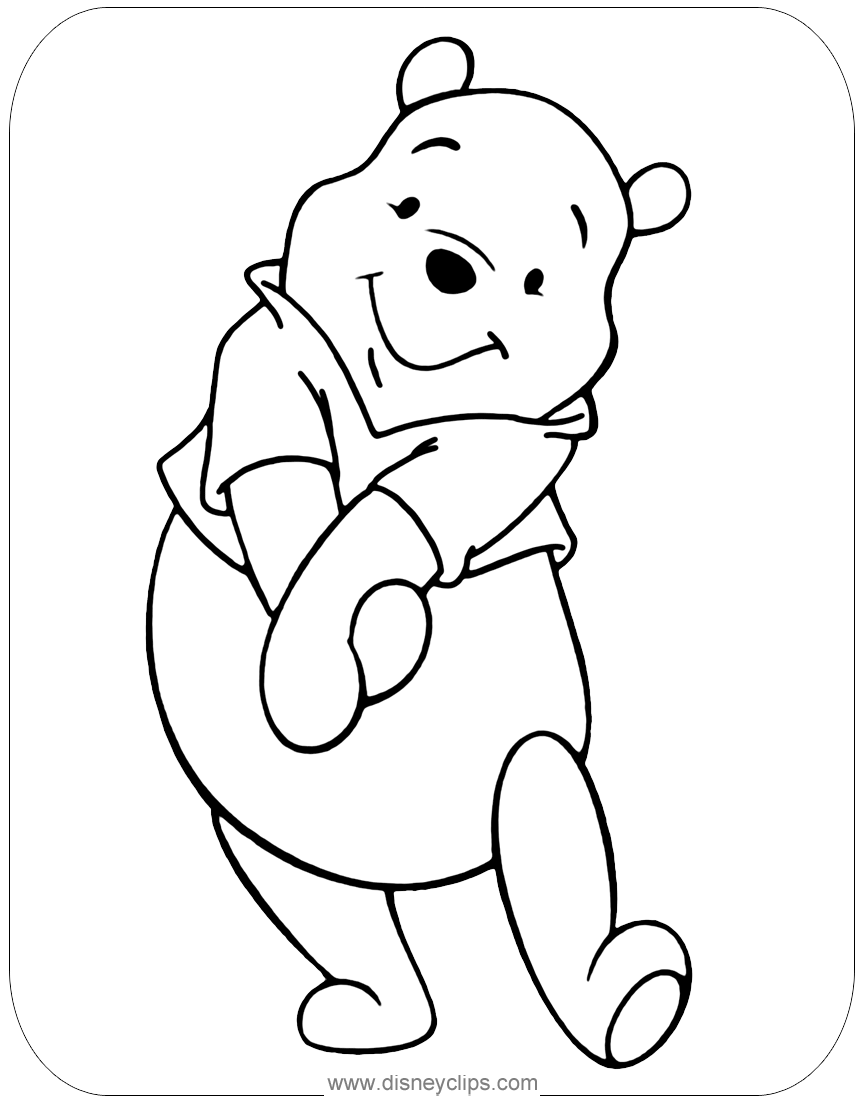winnie the pooh pictures to color baby winnie the pooh coloring page wecoloringpagecom winnie to pictures the color pooh