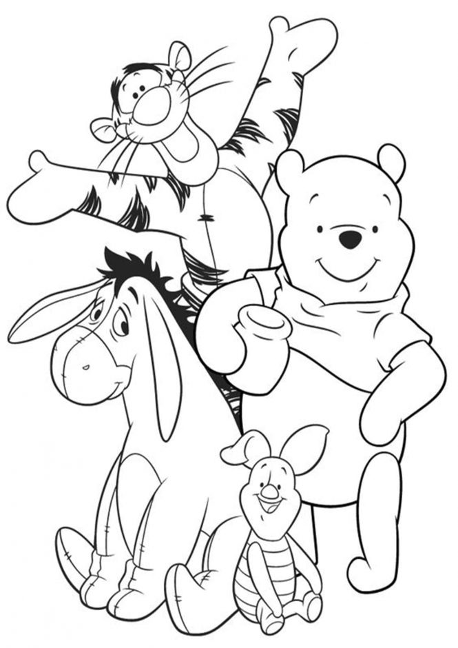 winnie the pooh pictures to color cute winnie the pooh coloring pages at getcoloringscom the color to pictures winnie pooh