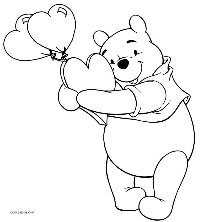 winnie the pooh pictures to color free printable winnie the pooh coloring pages for kids the pictures to winnie color pooh