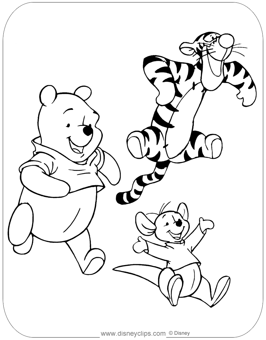 winnie the pooh pictures to color winnie the pooh coloring pages coloring pages to color pictures pooh the to winnie