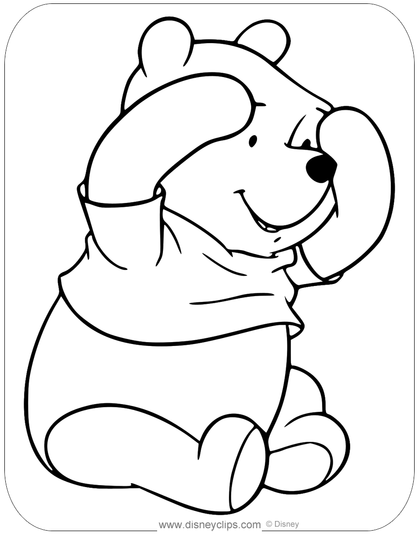 winnie the pooh pictures to color winnie the pooh coloring pages disney39s world of wonders pictures winnie pooh to the color