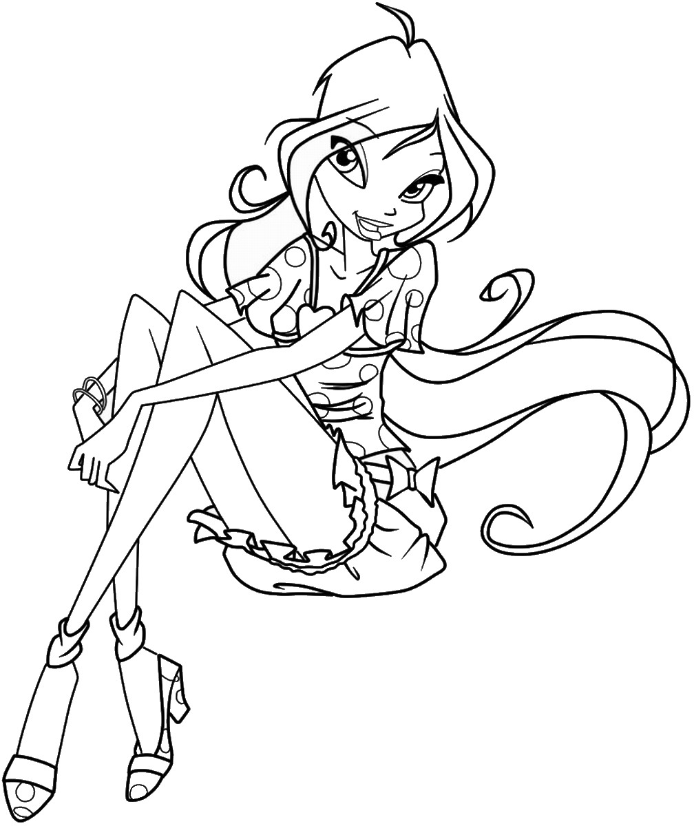 winx club coloring pages winx club roxy free coloring pages club winx pages coloring