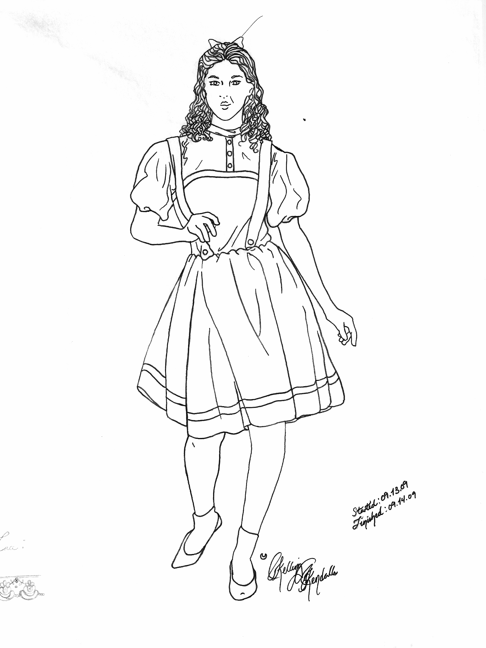 wizard of oz coloring pages dorothy dorothy drawing at getdrawings free download pages dorothy coloring oz wizard of