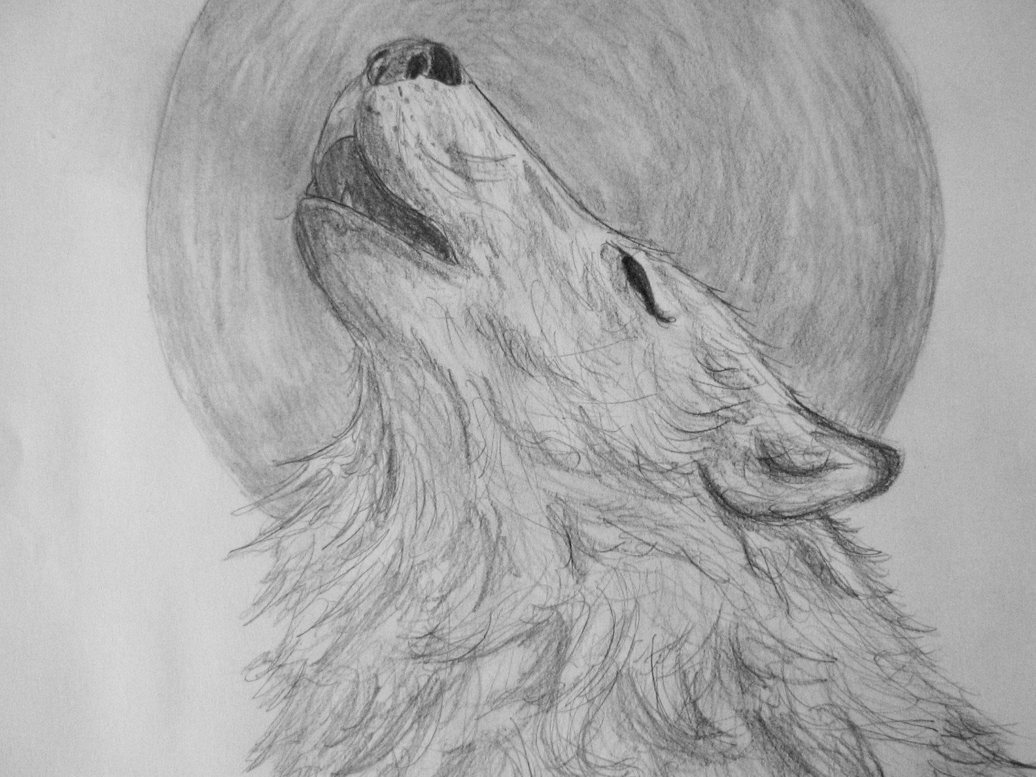 wolf howling at the moon drawing outline wolf howling drawing easy at moon drawing howling wolf the