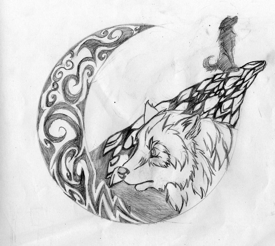 wolf howling at the moon drawing wolf cliff moon howling by red red panda on deviantart wolf drawing howling moon the at