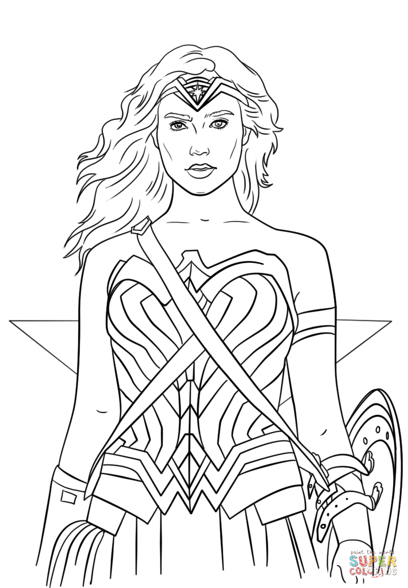 wonder woman coloring sheets wonder woman coloring pages to download and print for free wonder woman sheets coloring