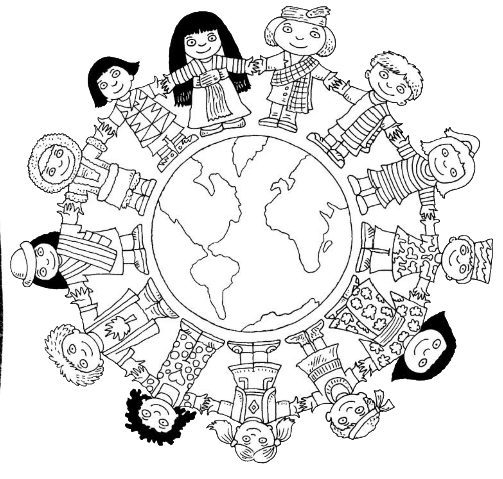 world coloring pages children around the world coloring pages to download and pages world coloring