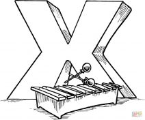 x coloring sheet get this letter x coloring pages xh4m1 x coloring sheet