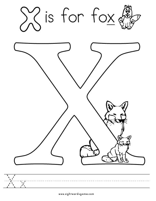 x coloring sheet letter x alphabet coloring pages for kids abc sheet coloring x