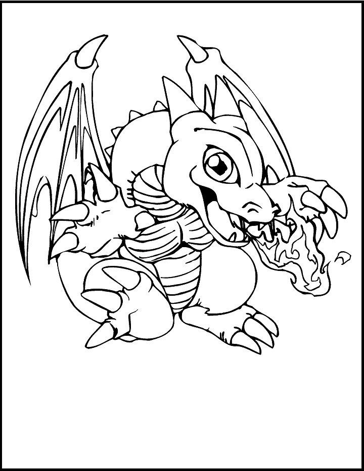 yugioh dragon coloring pages yu gi oh coloring pages getcoloringpagescom coloring yugioh dragon pages