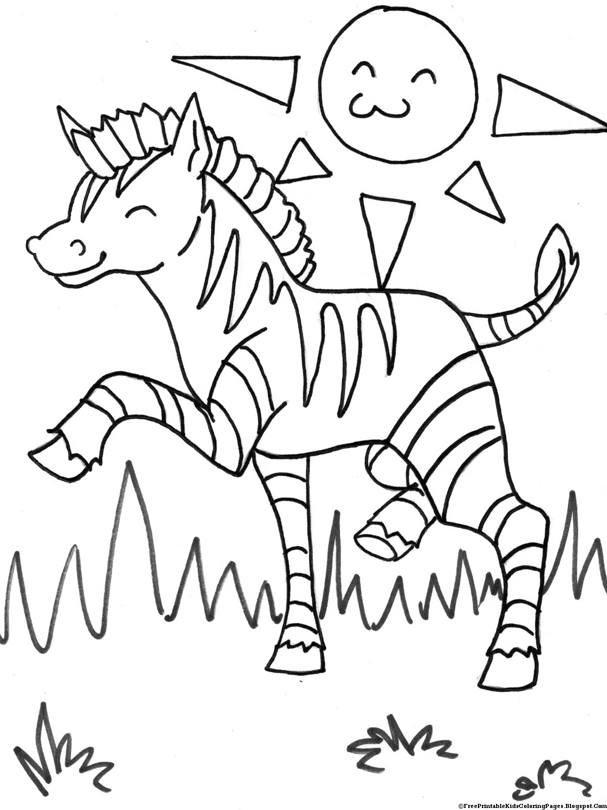 zebra printable coloring pages zebra coloring pages free printable kids coloring pages coloring zebra printable pages