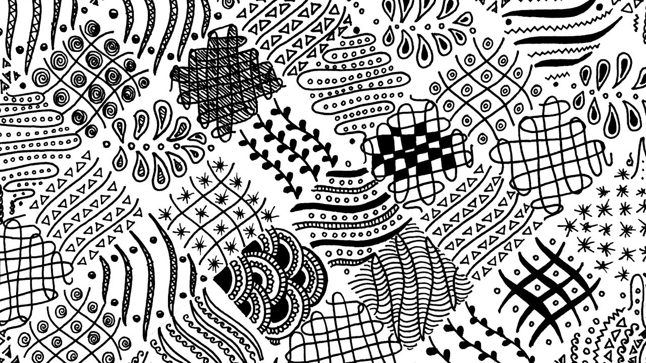 zentangle patterns free printable inspired by zentangle patterns and starter pages craftwhack printable free patterns zentangle