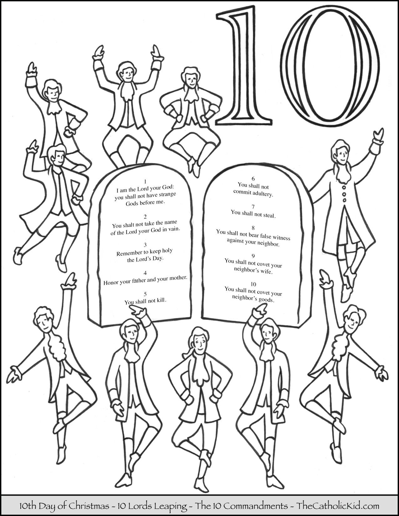12 days of christmas coloring pages 12 days of christmas coloring pages thecatholickidcom days of coloring christmas 12 pages