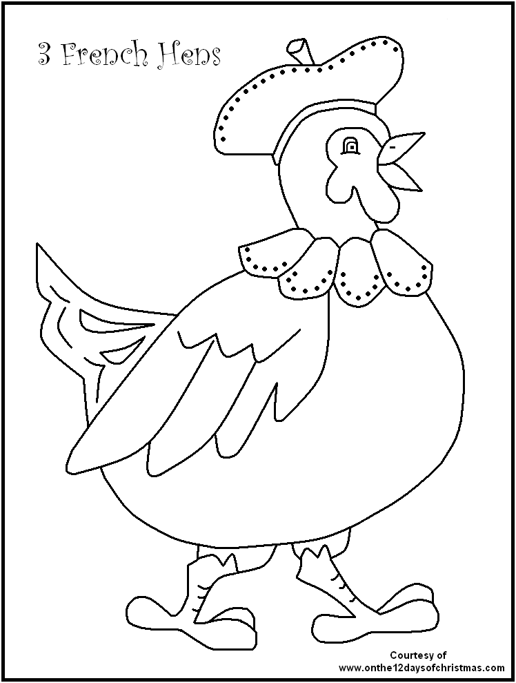12 days of christmas coloring pages 12 days of christmas coloring pages wallpapers9 12 of pages days coloring christmas