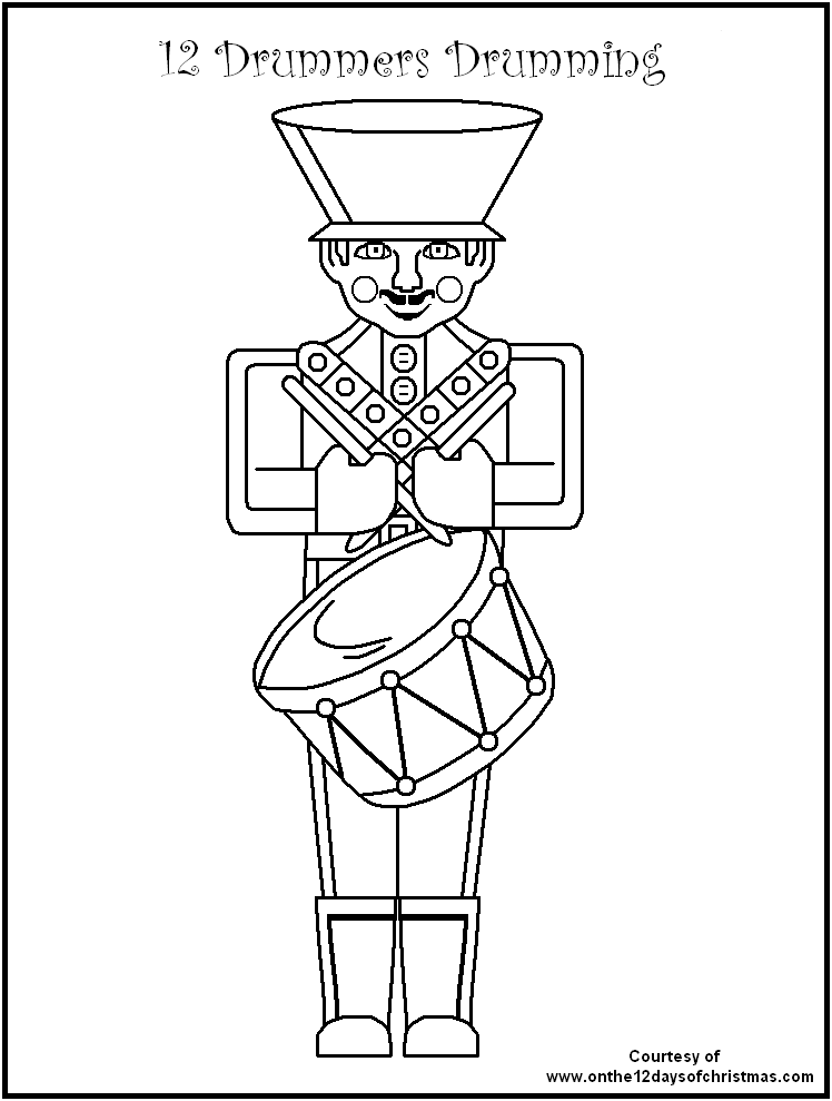 12 days of christmas coloring pages twelve days of christmas coloring pages coloring home days 12 christmas coloring of pages