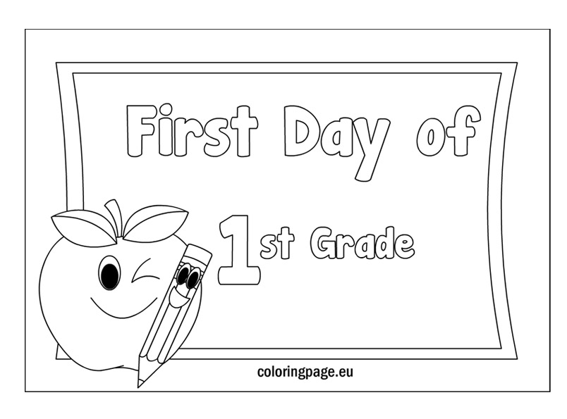 1st grade coloring pages free coloring pages for first grade coloring home coloring pages 1st grade