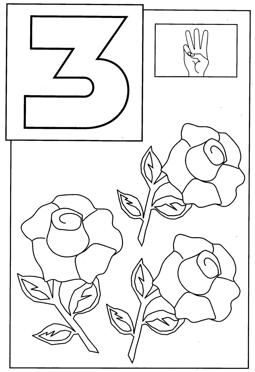 3 coloring sheet number three coloring page a free math coloring printable coloring 3 sheet