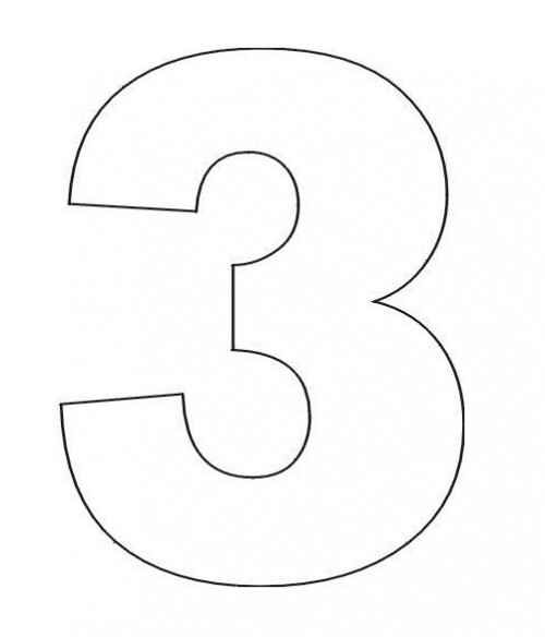 3 coloring sheet numbers coloring page crafts and worksheets for 3 coloring sheet