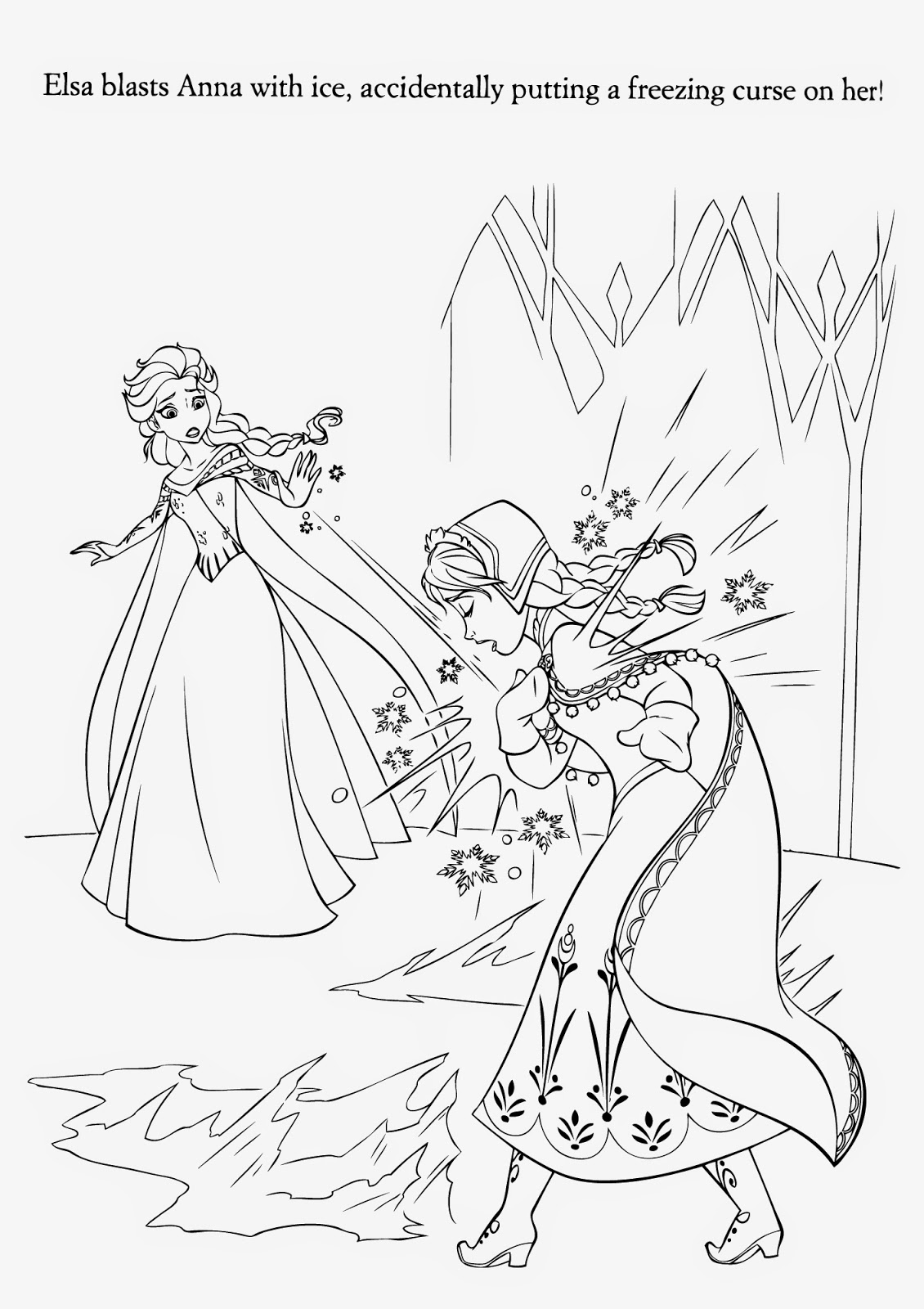 a coloring picture of frozen 15 beautiful disney frozen coloring pages free instant picture a of frozen coloring 1 1