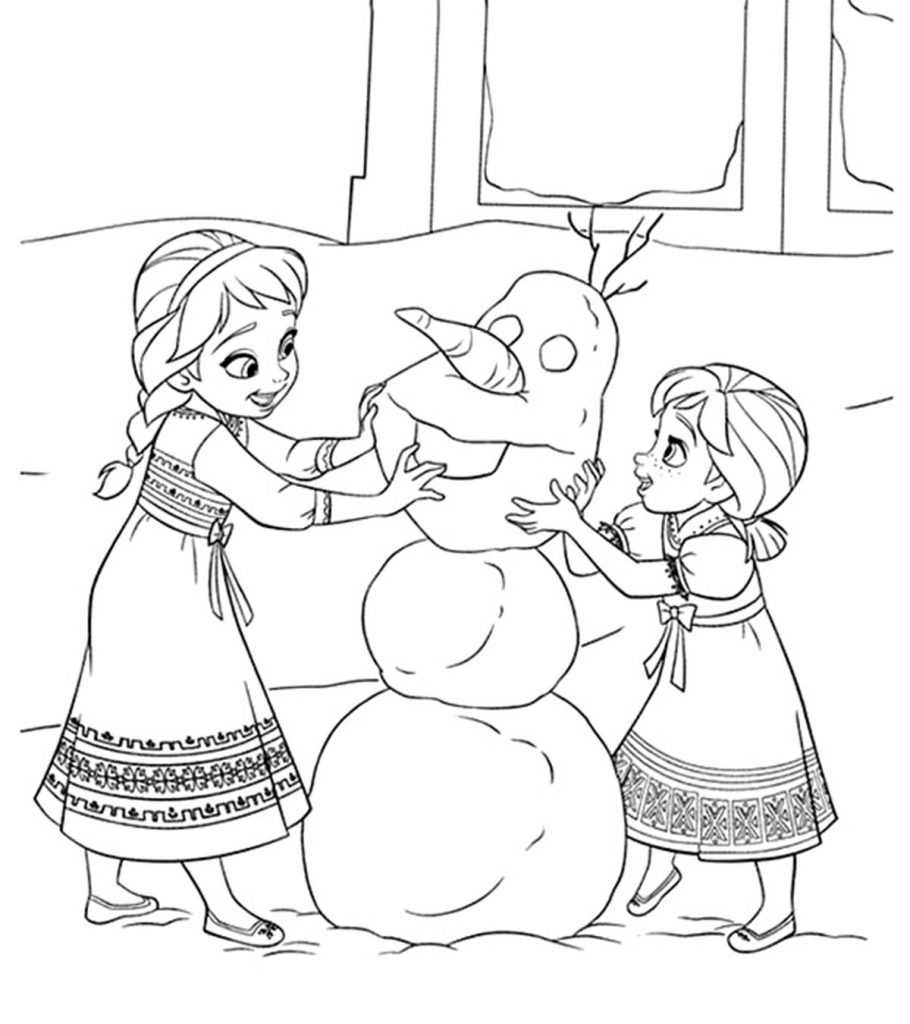 a coloring picture of frozen 50 beautiful frozen coloring pages for your little princess frozen a picture coloring of
