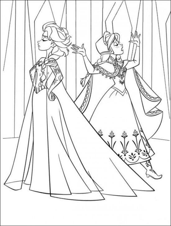 a coloring picture of frozen coloring page world frozen portrait picture coloring frozen of a