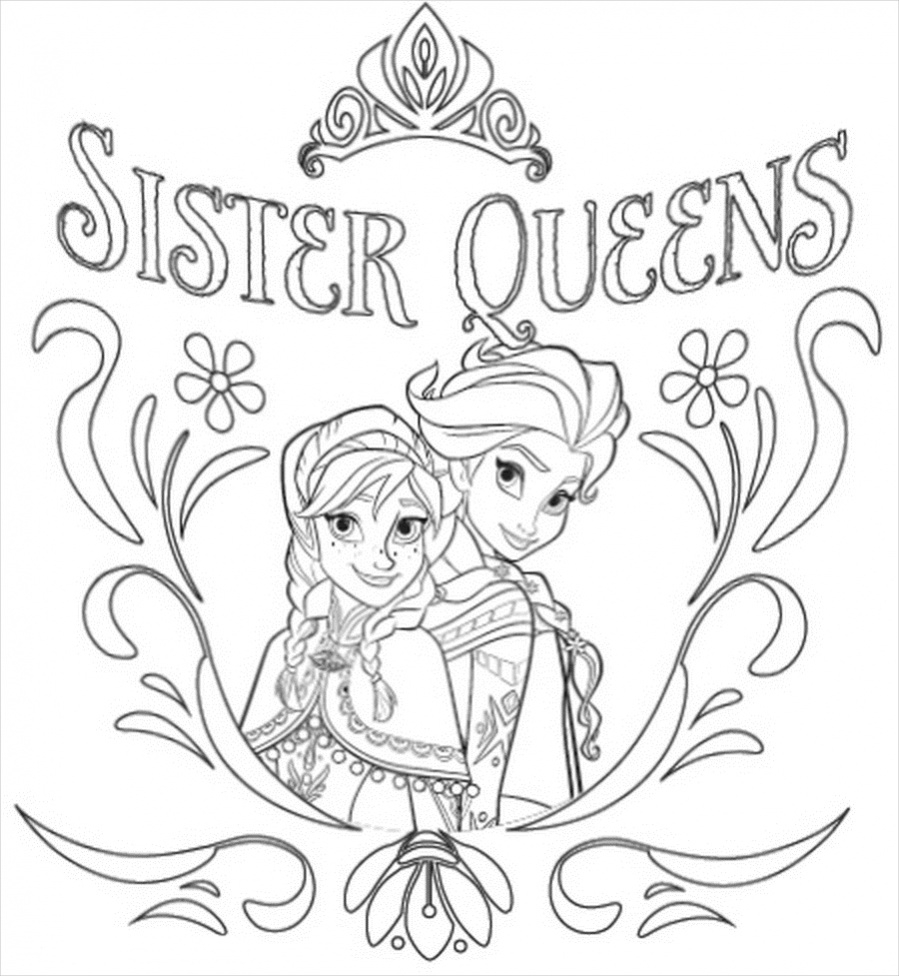 a coloring picture of frozen free 14 frozen coloring pages in ai pdf of picture frozen coloring a