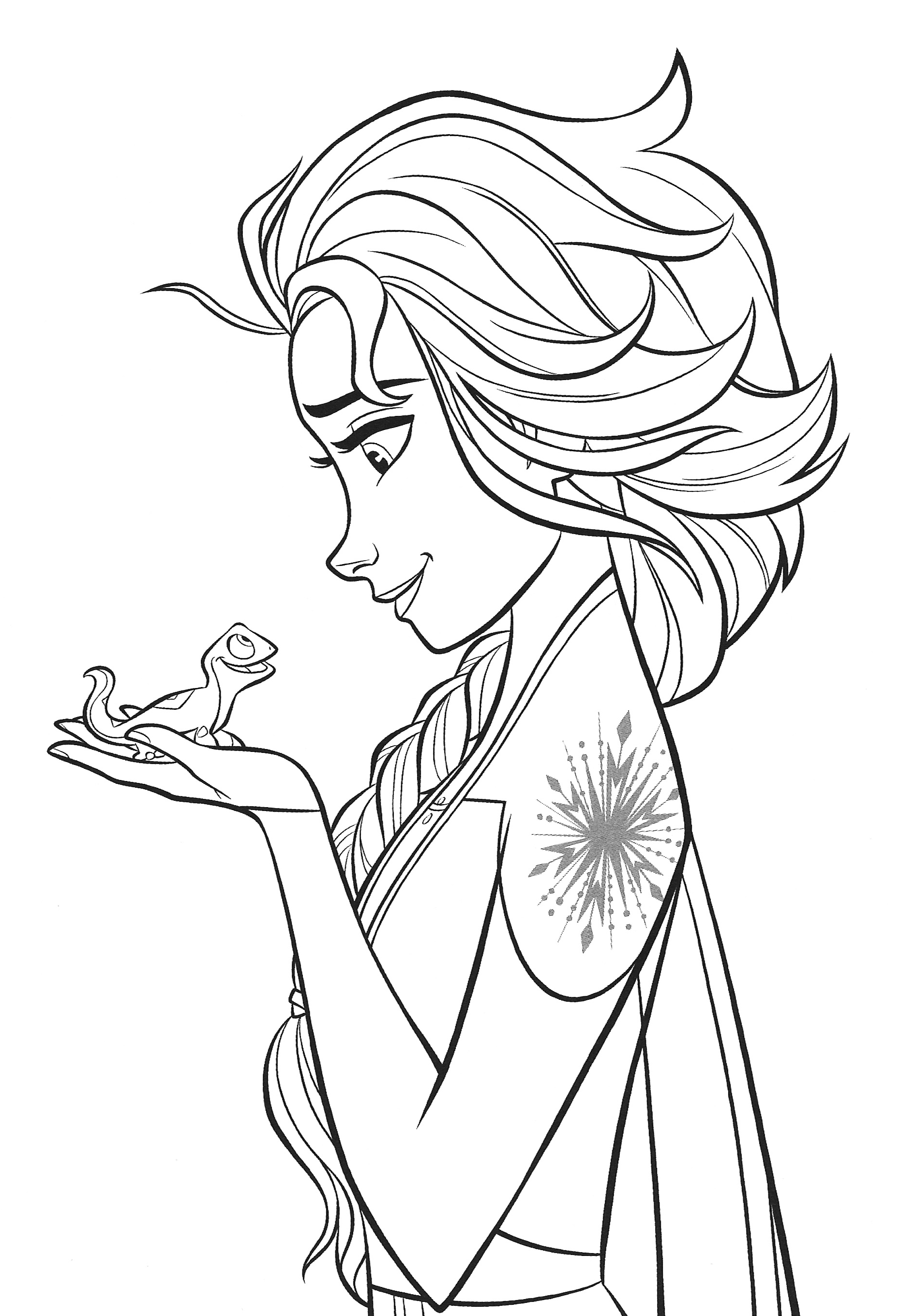 a coloring picture of frozen frozen 2 coloring pages into the unknown colouring mermaid of frozen picture coloring a