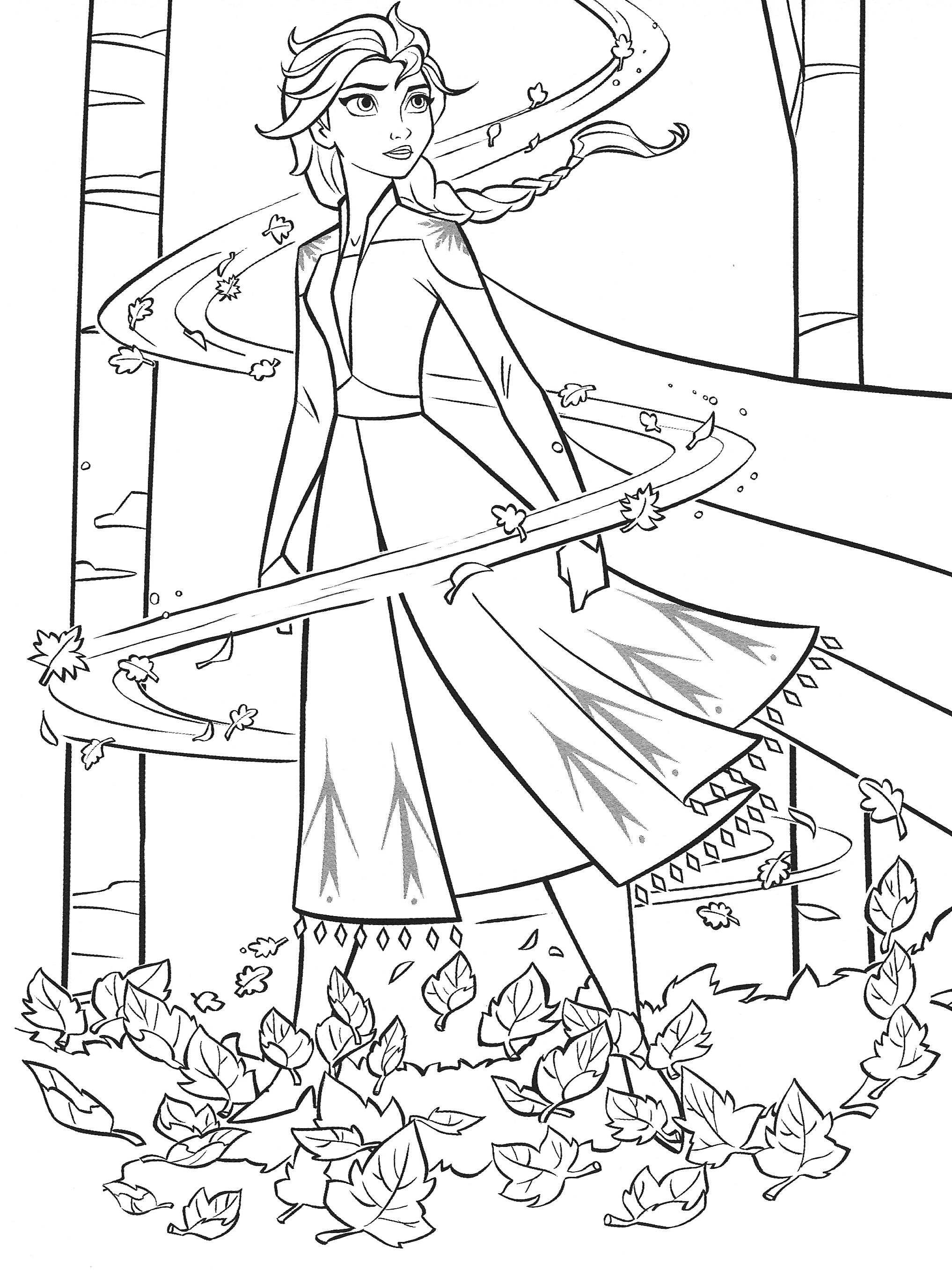 a coloring picture of frozen new frozen 2 coloring pages with elsa youloveitcom picture of frozen coloring a