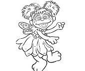 abby coloring pages picture day abbey bominable coloring page free printable abby coloring pages