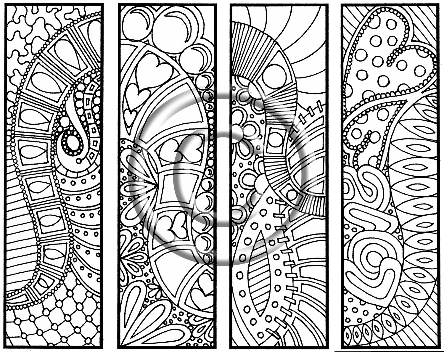abstract coloring pages to print 9 best images of doodle coloring pages owl printable coloring abstract print pages to