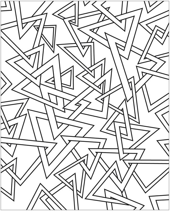 abstract coloring pages to print a dover publication sample abstract coloring pages print to pages coloring abstract
