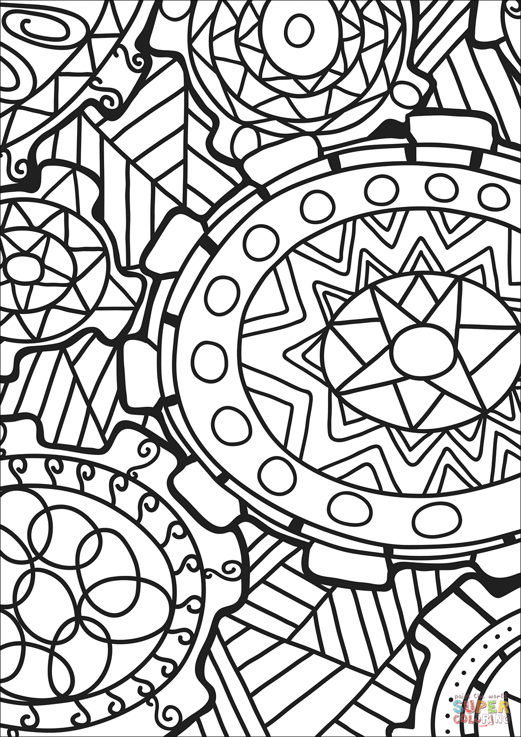 abstract coloring pages to print abstract doodle coloring page free printable coloring pages coloring to print pages abstract