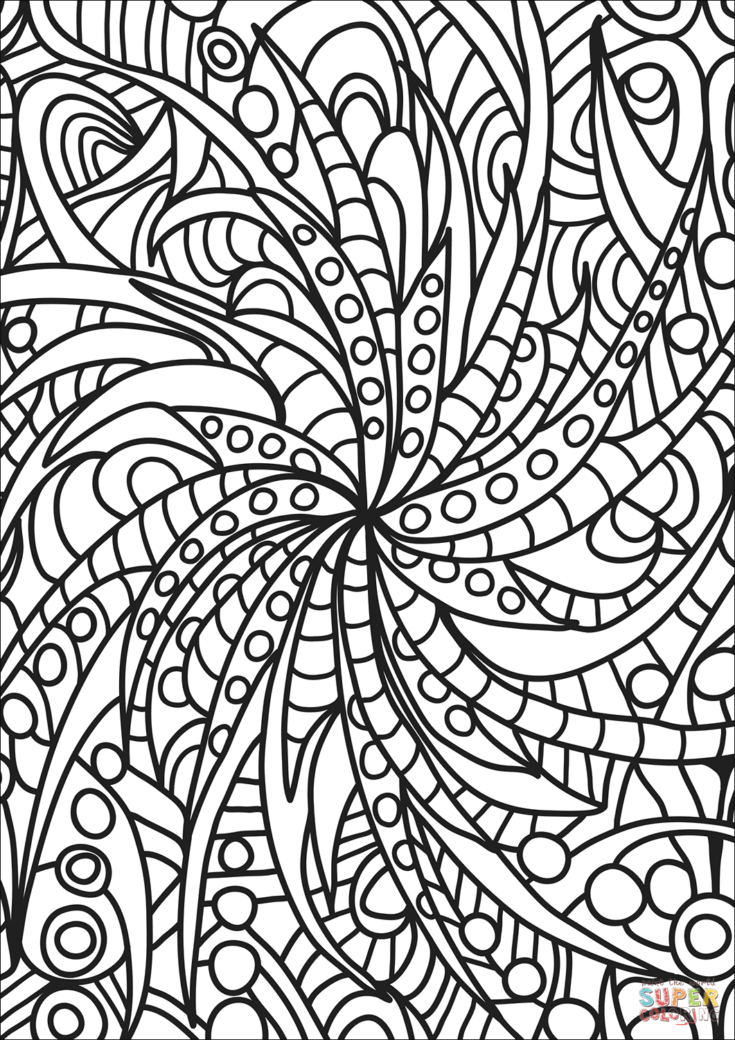 abstract coloring pages to print abstract doodle coloring page free printable coloring pages pages coloring to print abstract
