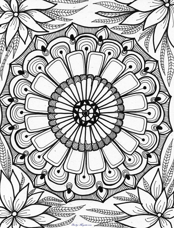 abstract coloring pages to print by artbymayette abstract doodle zentangle paisley coloring abstract to pages print