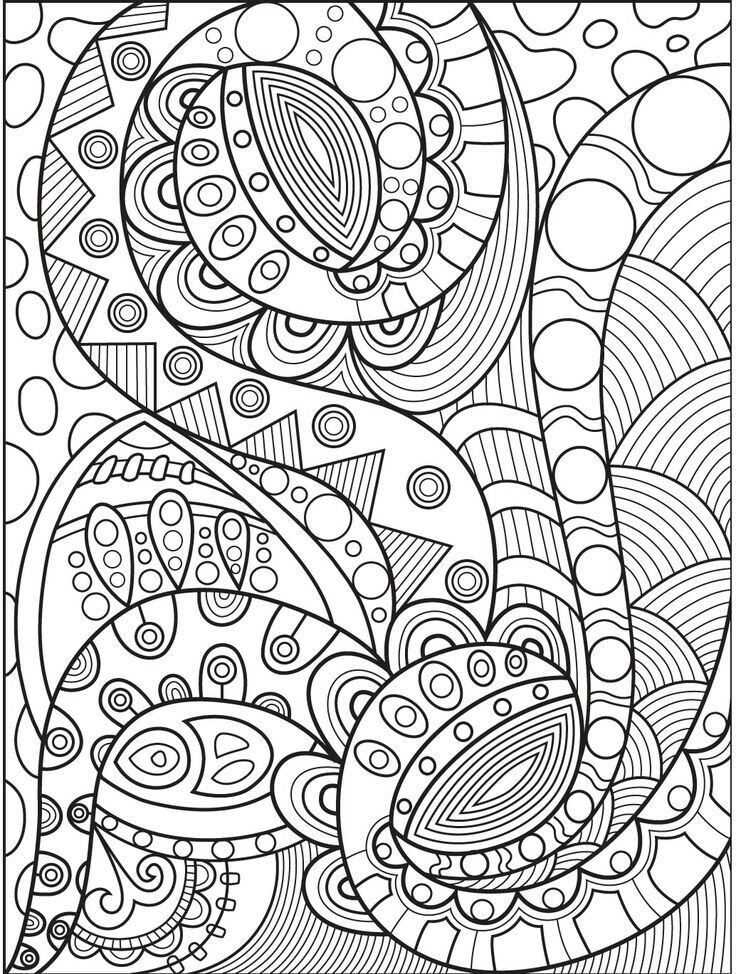 abstract coloring pages to print pin by valarie ante on color me sweary coloring pages coloring to pages print abstract
