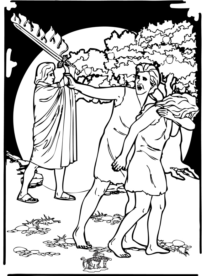 adam and eve coloring page fall of adam and eve coloring page free printable adam page and coloring eve